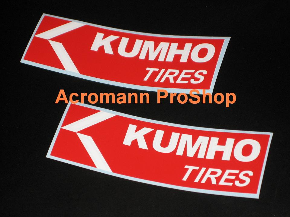 Kumho 6inch Decal x 2 pcs